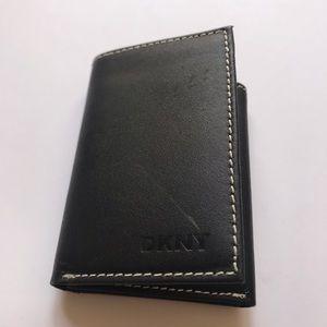 DKNY Leather Wallet in Black NWOT